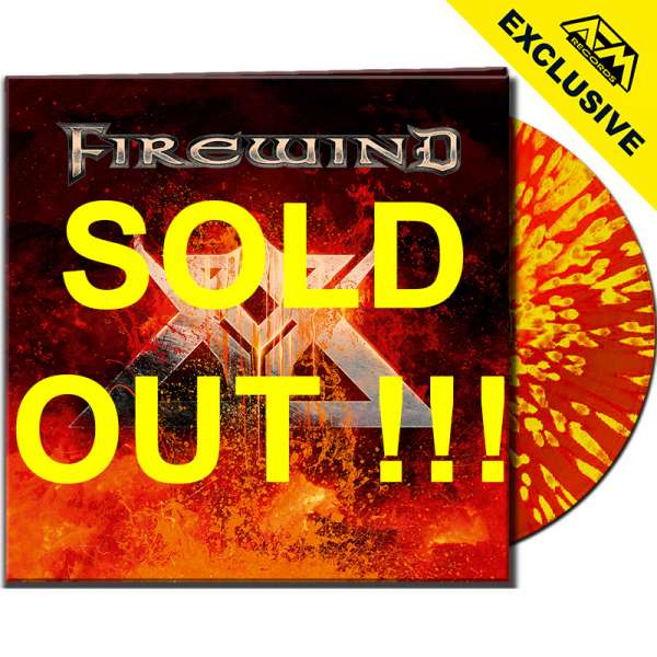 FIREWIND - Firewind - Ltd. Gtf. CLEAR RED/YELLOW SPLATTER LP - Shop Exclusive !