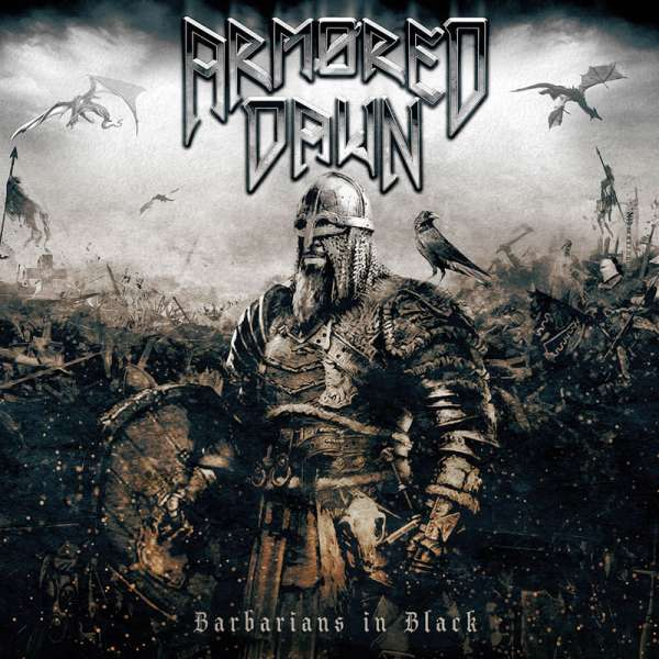 ARMORED DAWN - Barbarians In Black - CD - Jewelcase