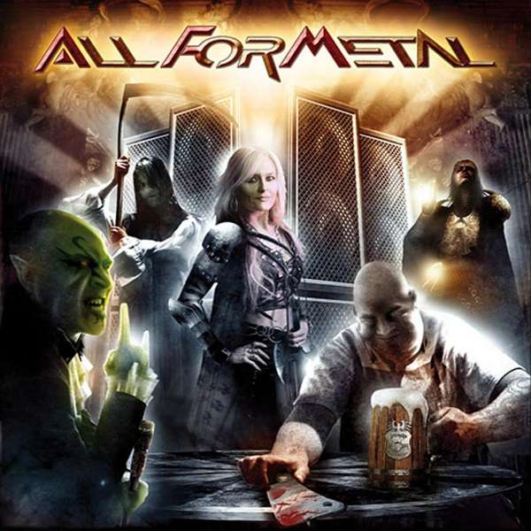 VARIOUS ARTISTS - All For Metal (DVD/CD Set)