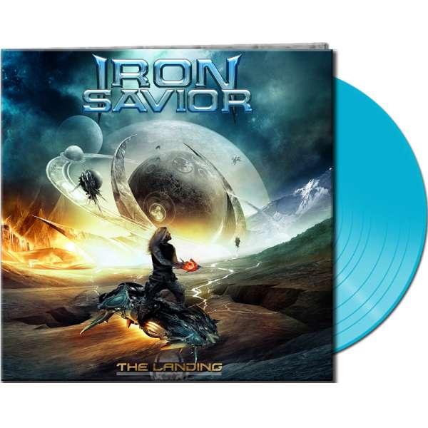 Iron Savior - The Landing - Ltd. Gtf. Pale Blue 180 g Vinyl