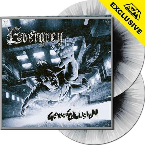 EVERGREY - Glorious Collision (Rem.Edt.) - Ltd. Gatefold WHITE/BLACK SPLATTER 2-LP - Shop Exclusive!