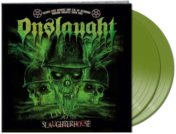 Onslaught - Live At The Slaughterhouse - Ltd. Gtf. Green 2-Vinyl