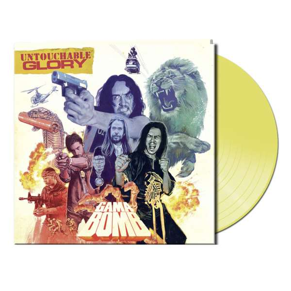 Gama Bomb - Untouchable Glory - Gtf. Yellow Vinyl