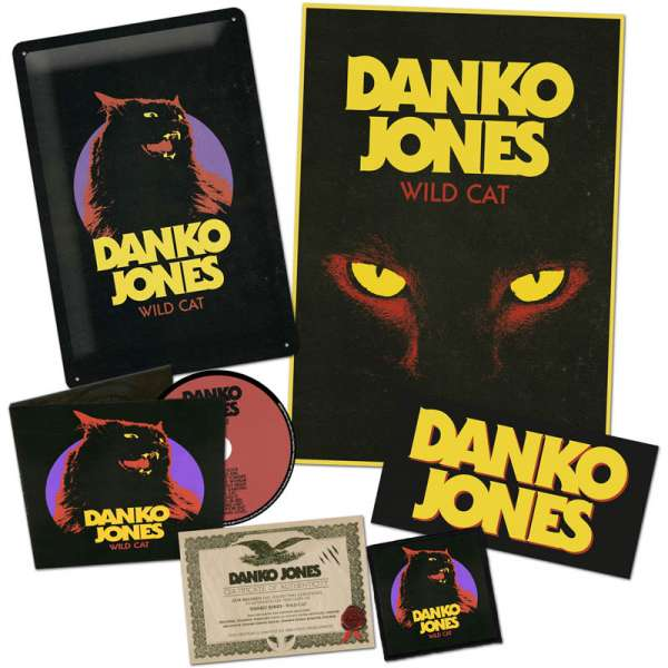 DANKO JONES - Wild Cat - Ltd. Boxset
