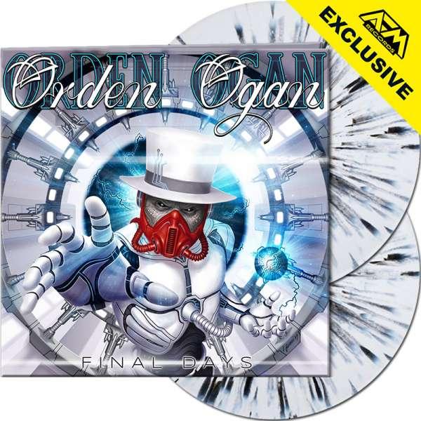 ORDEN OGAN - Final Days - Ltd. Gatefold WHITE/BLACK SPLATTER 2-LP - Shop Exclusive