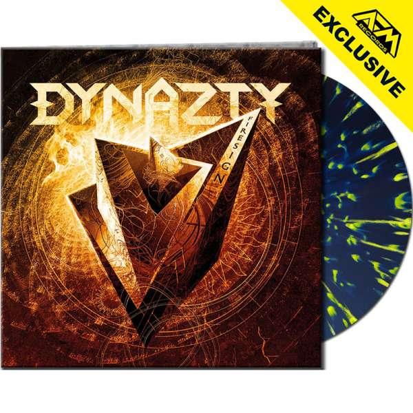 DYNAZTY - Firesign - Ltd. Gatefold BLUE/YELLOW SPLATTER Vinyl - AFM Shop Exclusive !