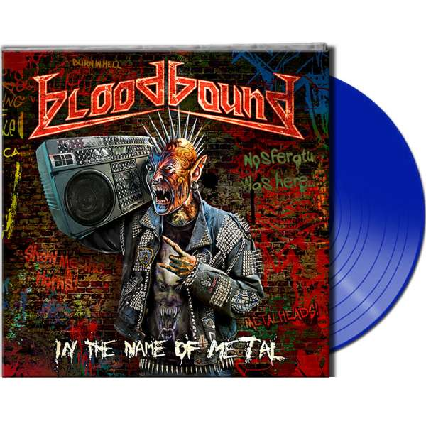 BLOODBOUND - In The Name Of Metal - Ltd. BLUE Vinyl