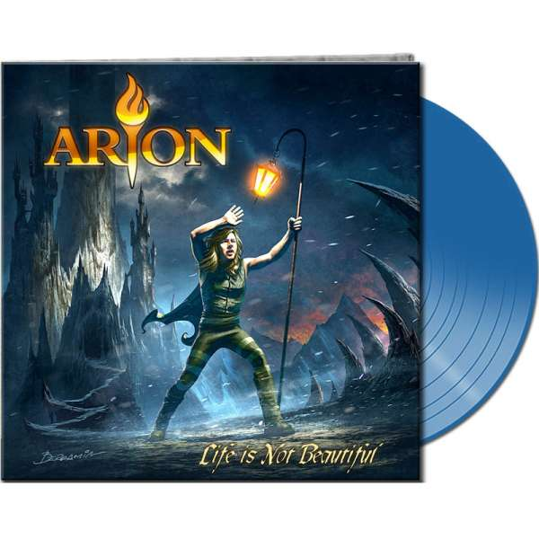 ARION - Life Is Not Beautiful - Ltd. Gatefold CLEAR BLUE Vinyl