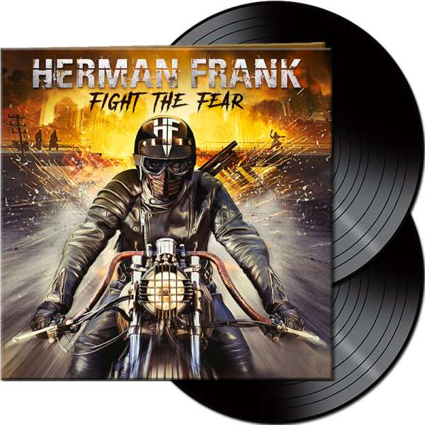 HERMAN FRANK - Fight The Fear - Ltd. Gatefold BLACK 2-Vinyl