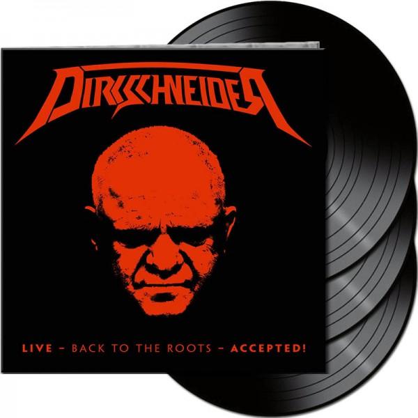 Dirkschneider - Live - Back To The Roots - Accepted! - Ltd. Gtf. Black 3-Vinyl