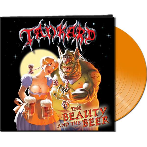 TANKARD - The Beauty And The Beer - Ltd. CLEAR ORANGE Vinyl