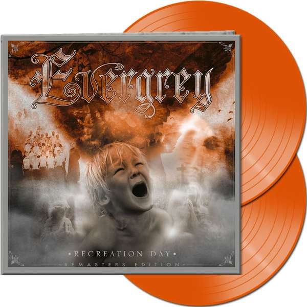 EVERGREY - Recreation Day (Remasters Edition) - Ltd. Gatefold ORANGE 2-Vinyl