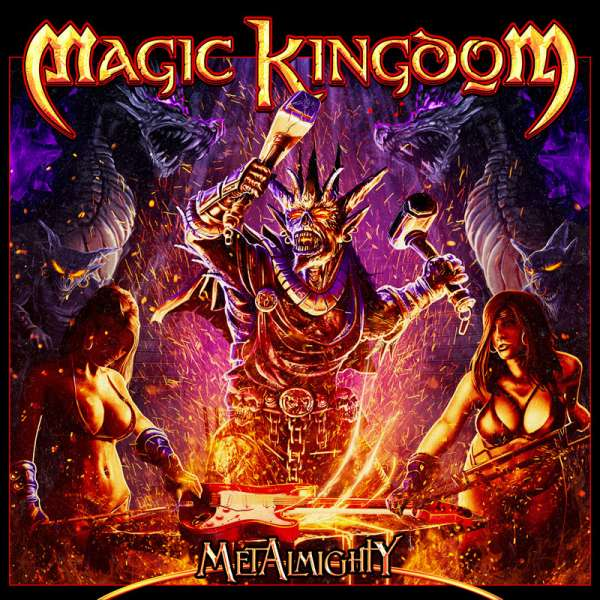 MAGIC KINGDOM - MetAlmighty - Digipak CD