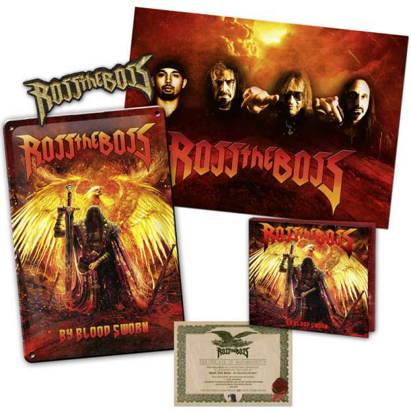 ROSS THE BOSS - By Blood Sworn - Ltd. Boxset