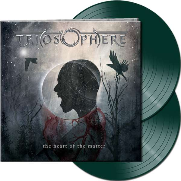 TRIOSPHERE - The Heart Of The Matter (Re-Release) - Ltd. Gatefold DARK GREEN 2-Vinyl