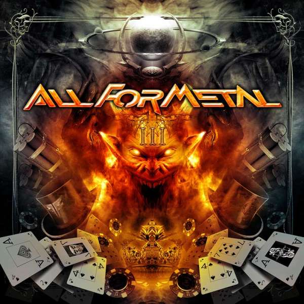 VARIOUS ARTISTS - All For Metal Vol. III (DVD/CD Set)