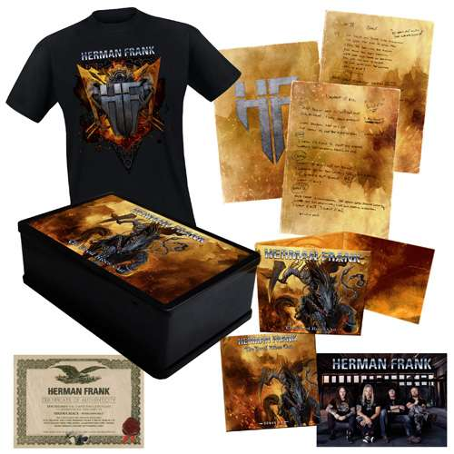 Herman Frank - The Devil Rides Out - Ltd. Boxset (Shirt Size XXL)