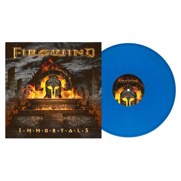 FIREWIND – Immortals (US Import) - Ltd. Gtf. Solid Blue Vinyl + Poster