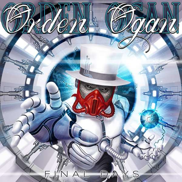 ORDEN OGAN - Final Days - CD+DVD Digipak