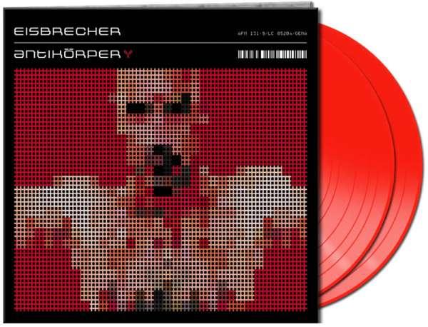 EISBRECHER - Antikörper (2-LP-clear red Vinyl)