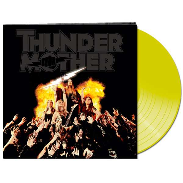 THUNDERMOTHER - Heat Wave - Ltd. Gatefold CLEAR YELLOW Vinyl