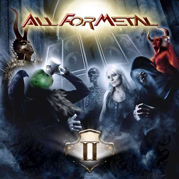 VARIOUS ARTISTS - All For Metal Vol. II (DVD/CD Set)