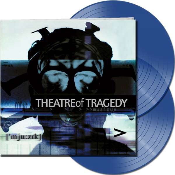 THEATRE OF TRAGEDY - Musique (20th Anniversary Edition) - Ltd.Gtf. CLEAR BLUE 2-LP