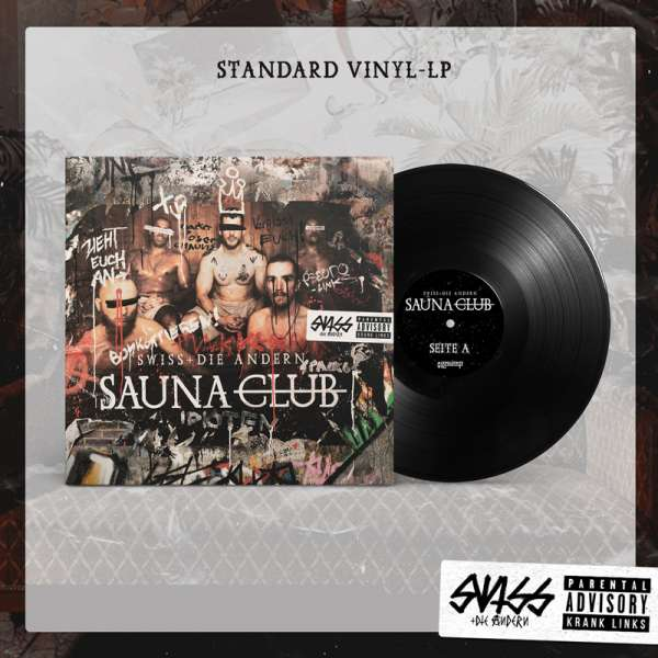 SWISS & DIE ANDERN - Saunaclub - Ltd. Black Vinyl
