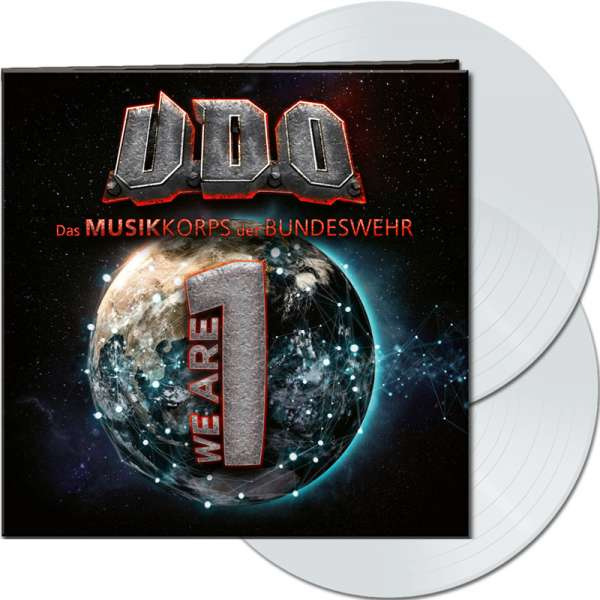 U.D.O. - We Are One - Ltd. Gatefold CLEAR 2-LP