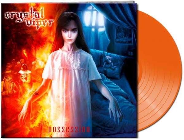 CRYSTAL VIPER - Possession (clear orange Vinyl)