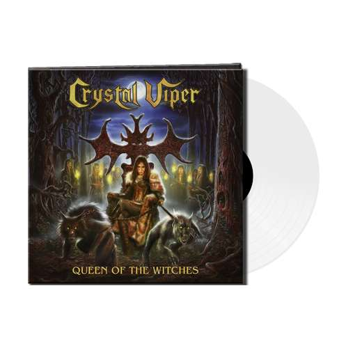 CRYSTAL VIPER - Queen Of The Witches - Ltd. Gtf. White Vinyl