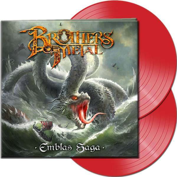BROTHERS OF METAL - Emblas Saga - Ltd. Gatefold RED 2-LP