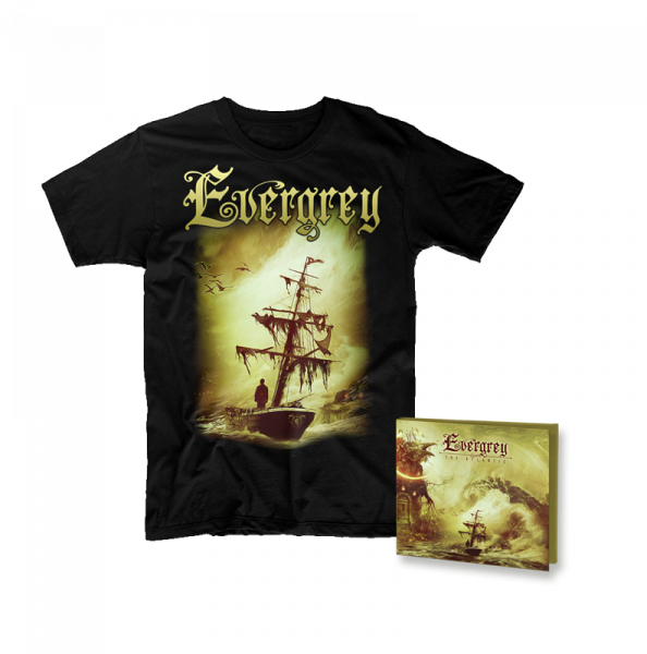 EVERGREY - The Atlantic - Ltd. Bundle: Digipak CD + T-Shirt M-XXL