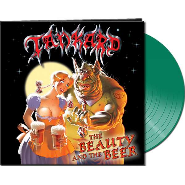 TANKARD - The Beauty And The Beer - Ltd. CLEAR GREEN Vinyl