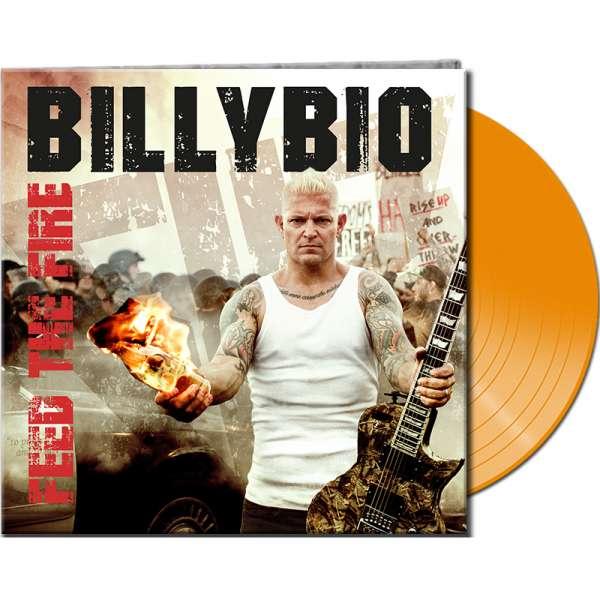 BILLYBIO - Feed The Fire - Ltd. Gatefold ORANGE Vinyl