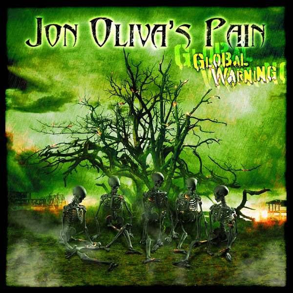 JON OLIVA'S PAIN - Global Warning - Ltd. Digipak-CD