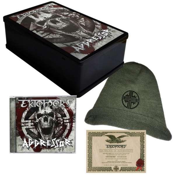 Ektomorf - Aggressor - Lim. Fanbox (CD + Beanie in Metal-Box)
