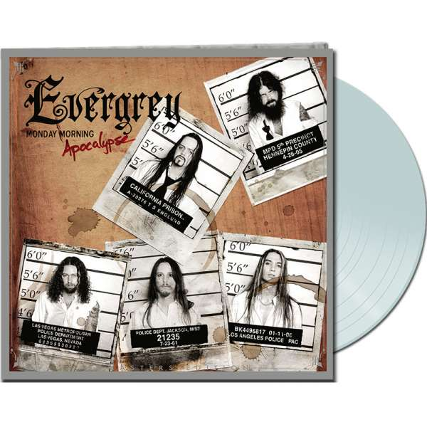 EVERGREY - Monday Morning Apocalypse (Remasters Ed.) - Ltd.Gtf.WHITE LP
