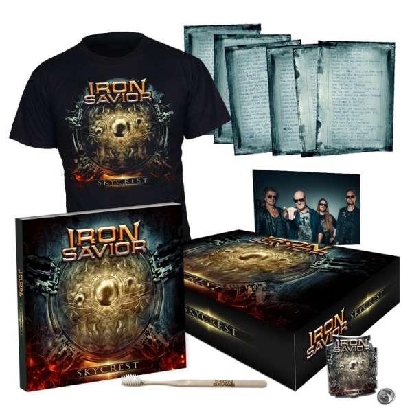 IRON SAVIOR - Skycrest - Ltd. Boxset (incl. T-Shirt L/XL)
