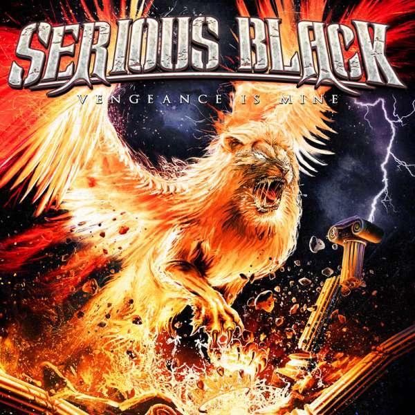 SERIOUS BLACK - Vengeance Is Mine - Digipak-CD