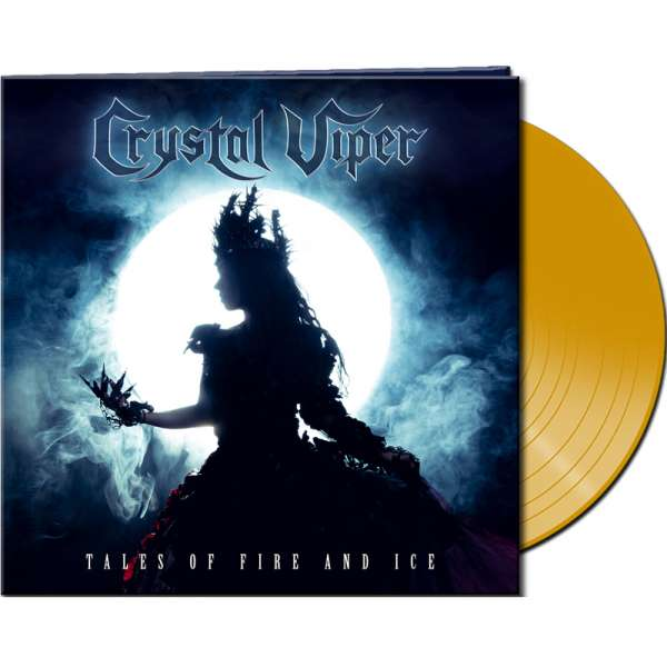 CRYSTAL VIPER - Tales Of Fire And Ice - Ltd. Gatefold CLEAR YELLOW LP