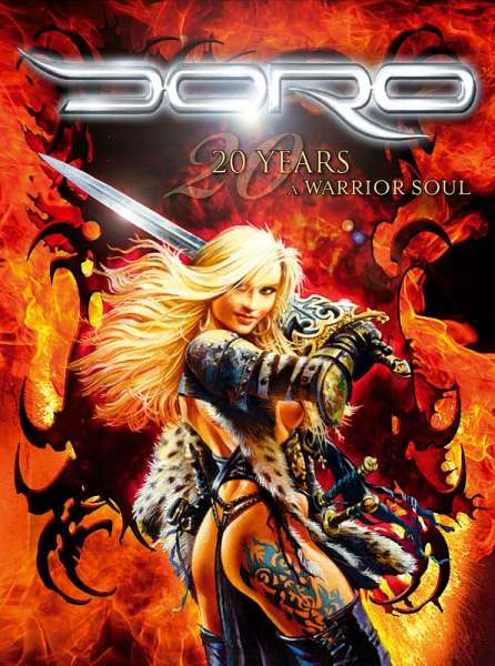 DORO - 20 Years, A Warrior Soul (DVD)