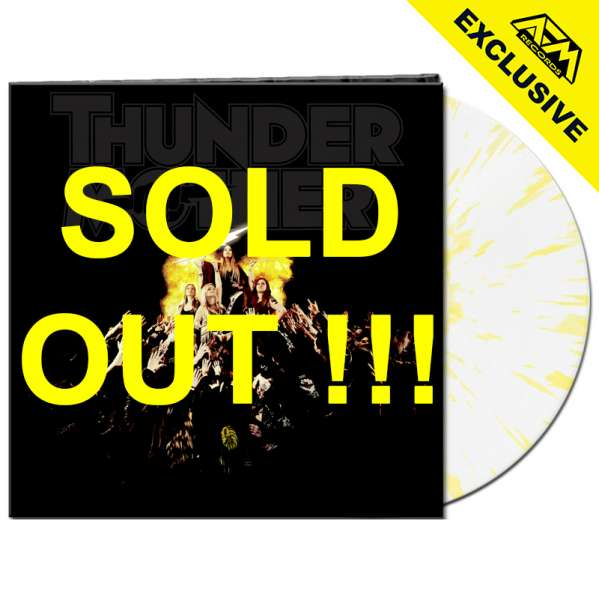THUNDERMOTHER - Heat Wave - Ltd. Gatefold CLEAR/YELLOW SPLATTER Vinyl - Shop Exclusive !