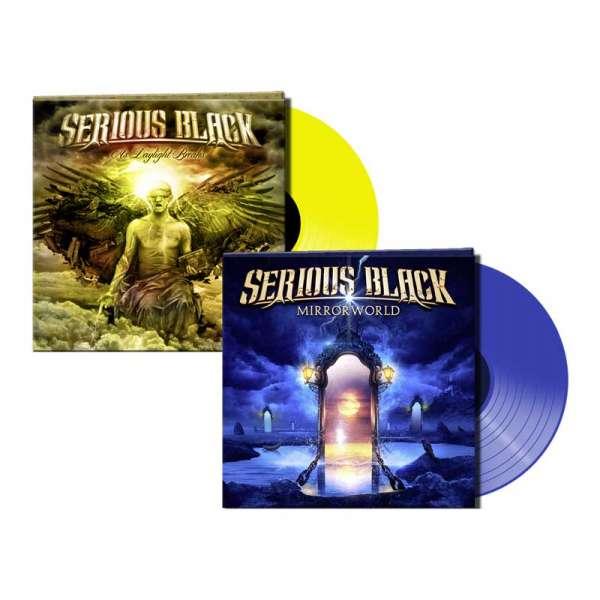 Serious Black - Mirrorworld & As Daylight Breaks - Color Vinyl - Bundle