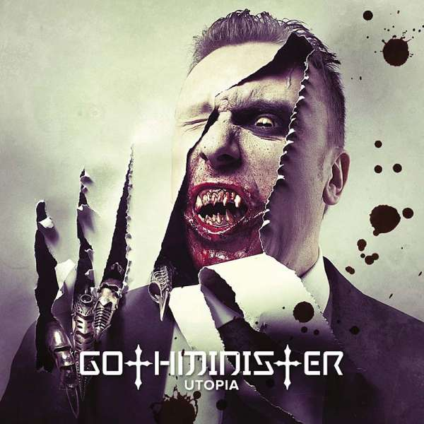 GOTHMINISTER - Utopia (CD / DVD)