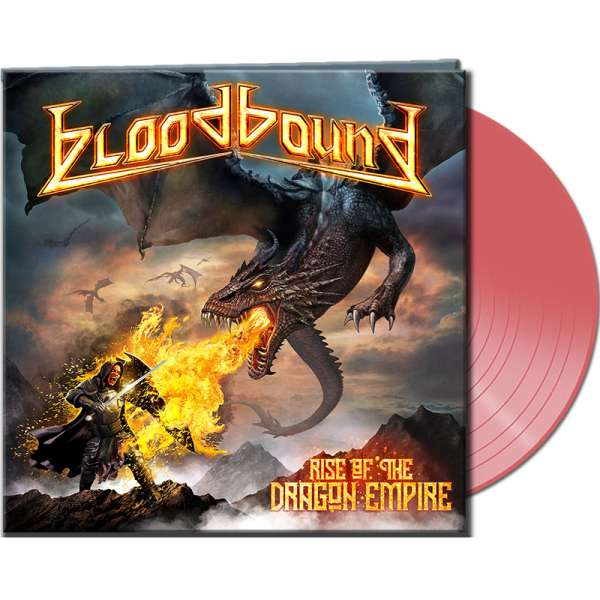 BLOODBOUND - Rise Of The Dragon Empire	- Ltd. Gatefold CLEAR ORANGE LP