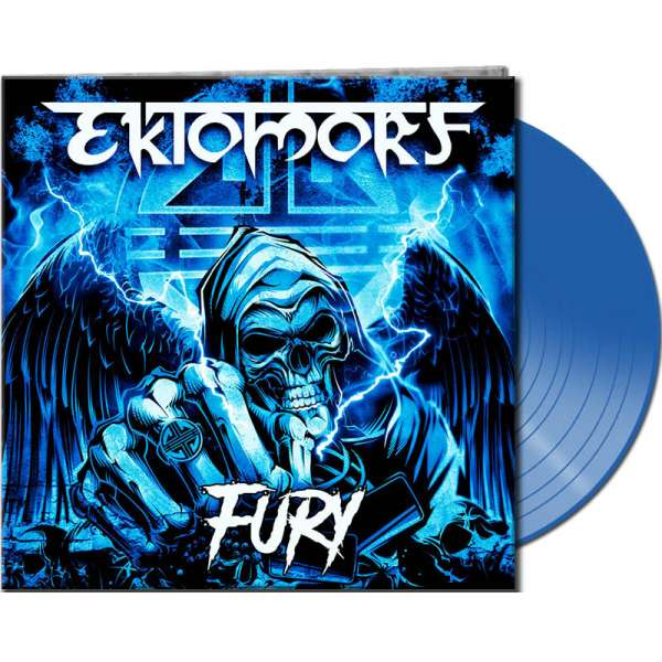 EKTOMORF - Fury - Ltd. Blue Vinyl