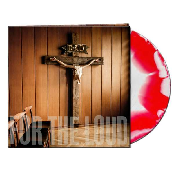 D-A-D - A Prayer For The Loud - Ltd. Gatefold WHITE/RED MERGE LP