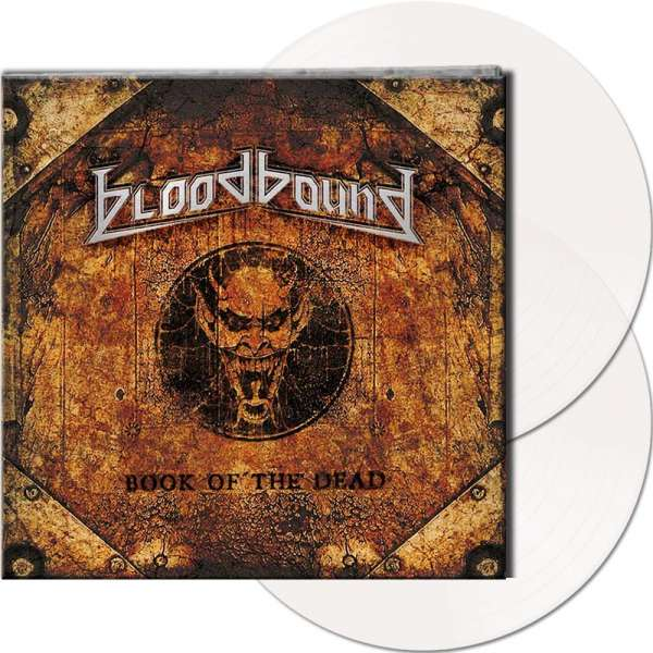 BLOODBOUND - Book Of The Dead - Ltd. Gtf. Clear 2-Vinyl