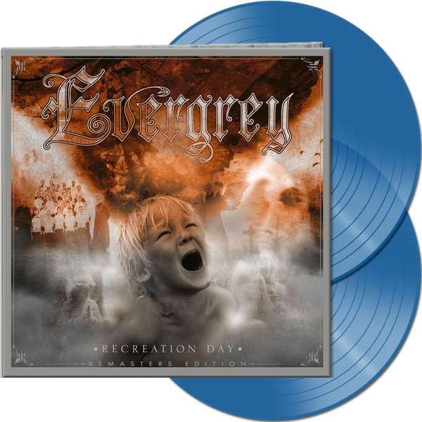 EVERGREY - Recreation Day (Remasters Edition) - Ltd. Gatefold CLEAR BLUE 2-Vinyl